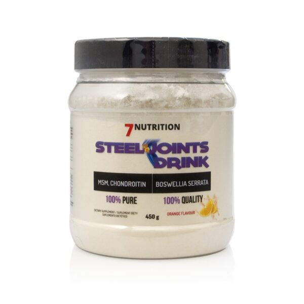 7Nutrition Steel Joints Drink Glucosamine Chondroitin MSM 3 Flavours