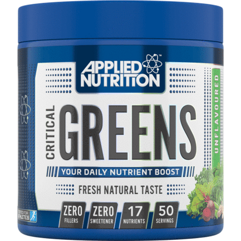 APPLIED NUTRITION CRITICAL GREENS - (250G)