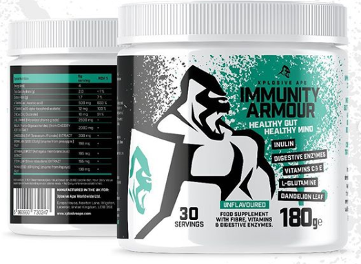 Xplosive Ape - Immunity Armour - Healthy Gut, Healthy Mind