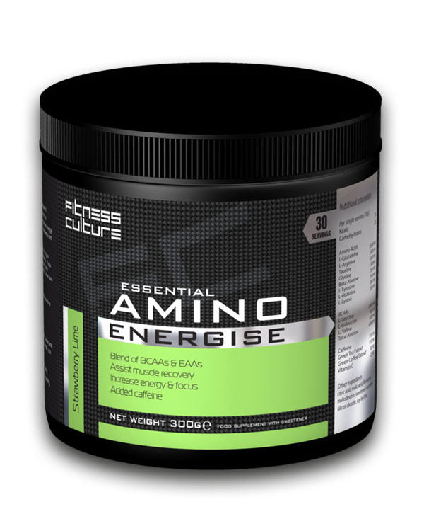 Fitness Culture Essential Amino Energise - 300g