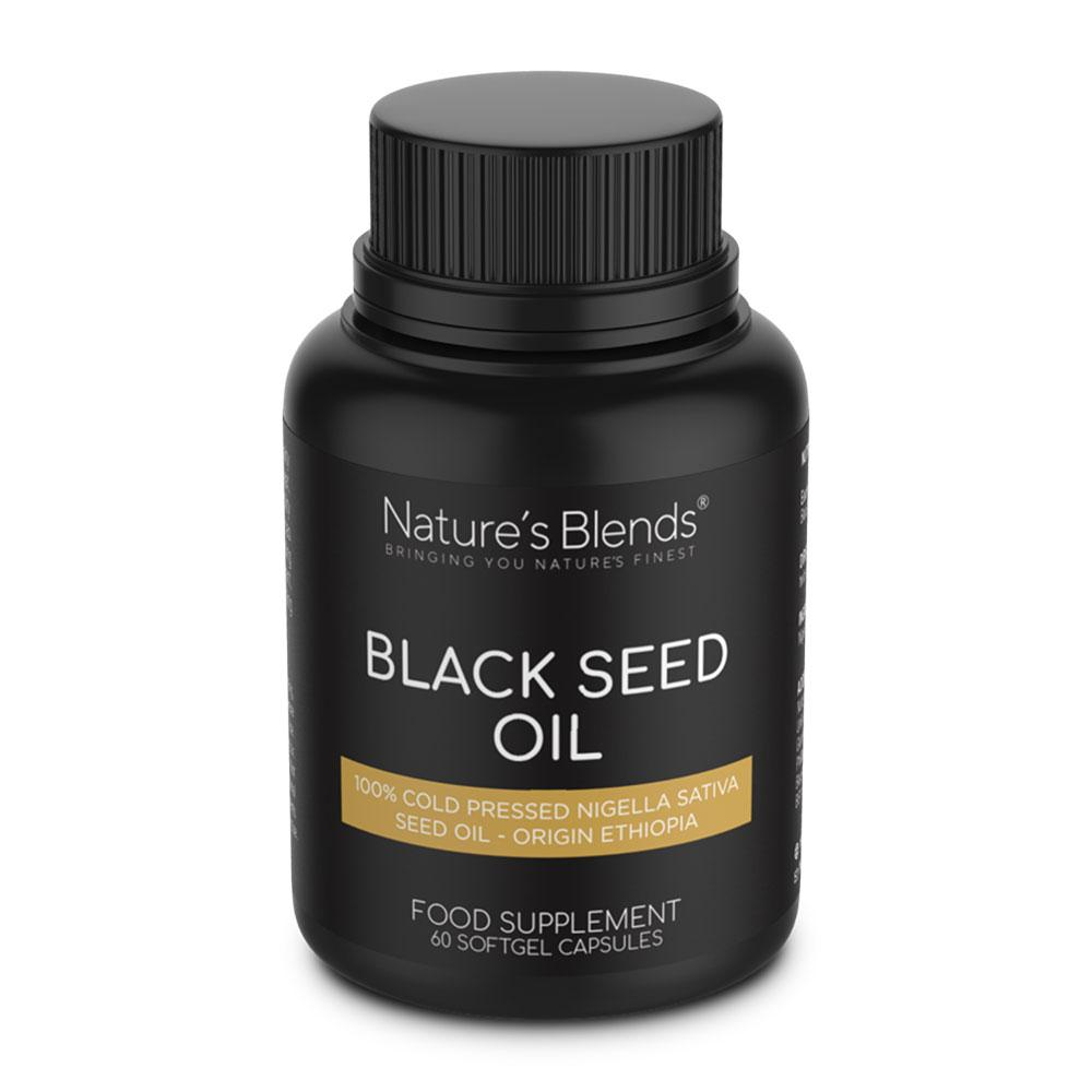 Nature's Blends Black Seed Oil - 60 Softgel Caps