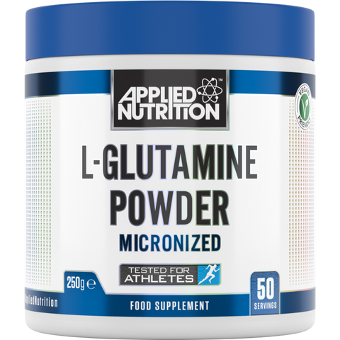 APPLIED NUTRITION MICRONIZED L-GLUTAMINE POWDER - 250g