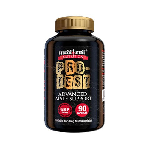Medi Evil Nutrition - Pro-Test Advanced Male Support - 90 Capsules