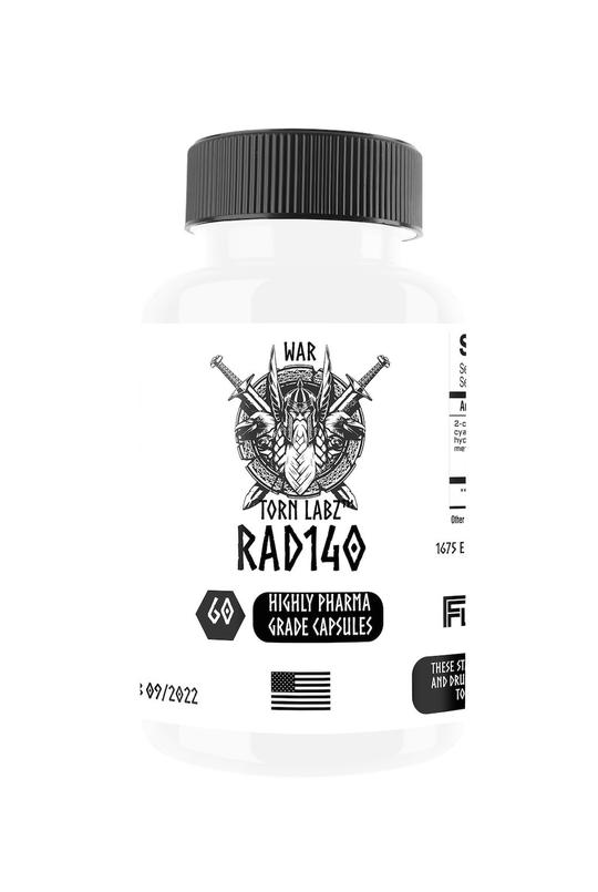 War Torn Labz RAD 140 60 CAPS