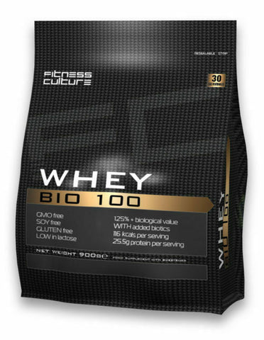 Fitness Culture Whey Bio 100 Pouch - 900g