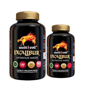 Medi-Evil Excalibur - METABOLIC MAGIC - Strong Fat Burner