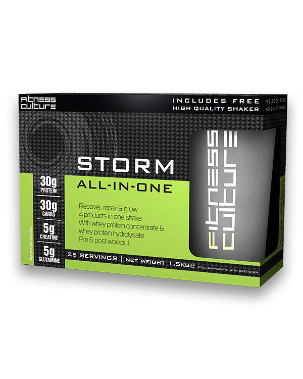 Fitness Culture Storm - All-In-One Mass Gainer - 1.5kg/25 Servings