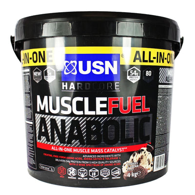 USN Muscle Fuel Anabolic 4kg Mass Gainer