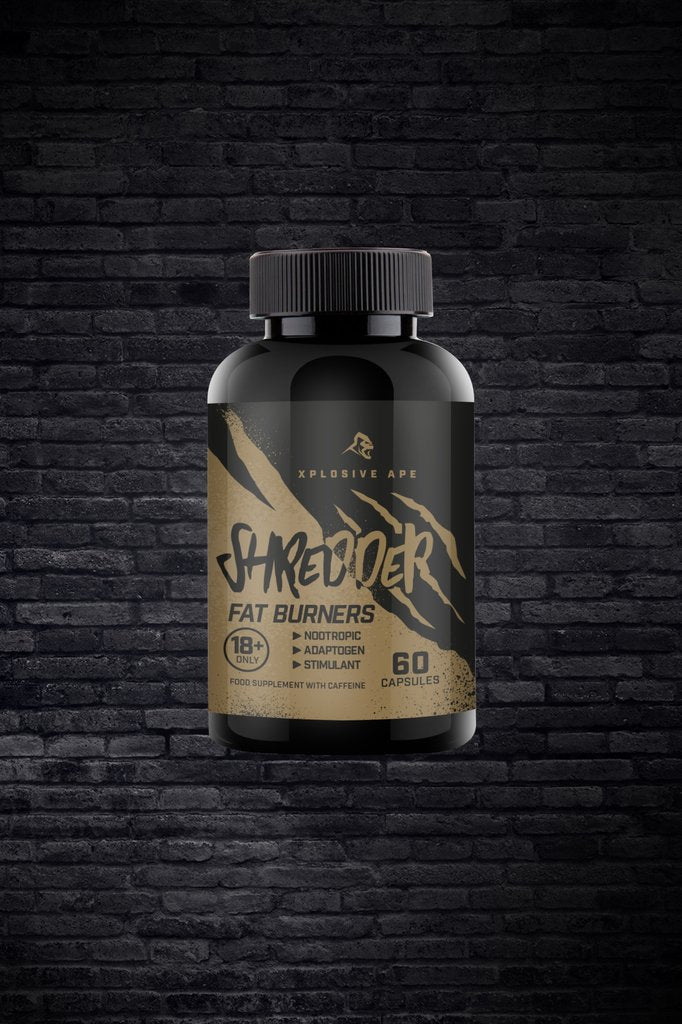 Xplosive Ape - Shredder - Fat Burner - 60 Capsules
