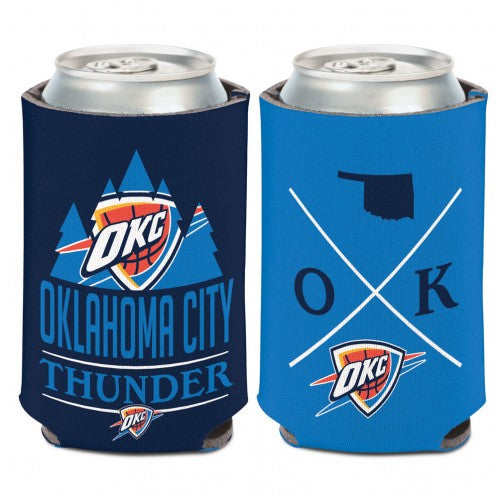 OKLAHOMA CITY THUNDER HIPSTER CAN COOLER 12oz.