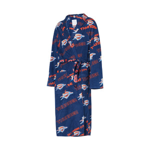 OKLAHOMA CITY THUNDER KEYSTONE MEN'S ROBE
