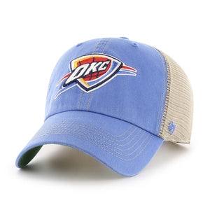OKLAHOMA CITY THUNDER 47 BRAND BLUE TRAWLER CLEAN UP HAT