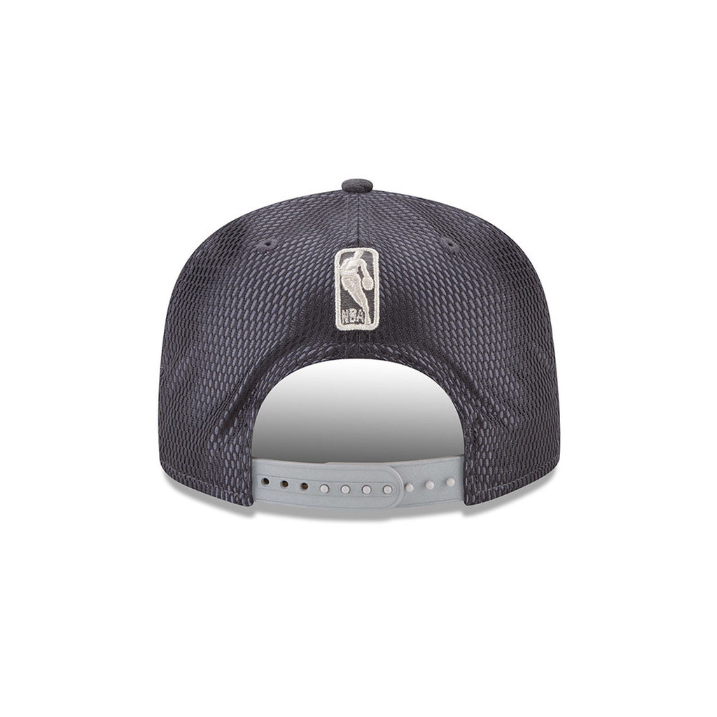 OKLAHOMA CITY THUNDER NEW ERA 9FIFTY GRAPHITE ON COURT SNAPBACK