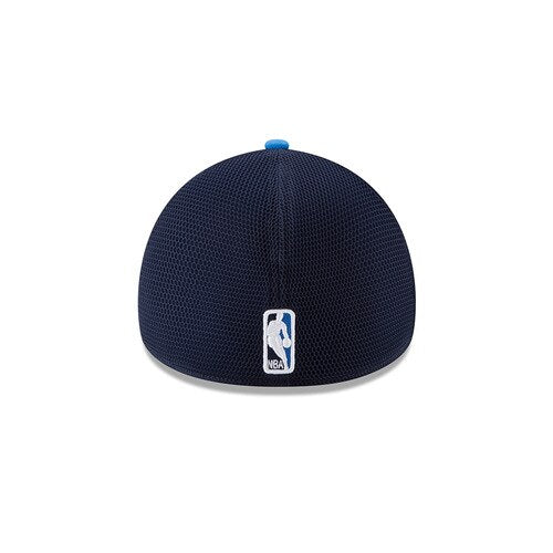 OKLAHOMA CITY THUNDER NEW ERA 39THIRTY NAVY/ROYAL ON COURT FLEX FIT