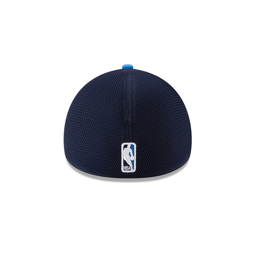 OKLAHOMA CITY THUNDER NEW ERA 39THIRTY ROYAL/NAVY ON COURT FLEX FIT