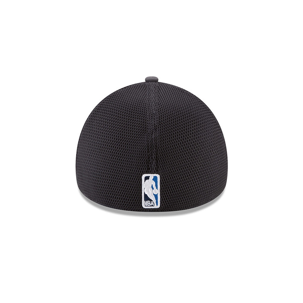 OKLAHOMA CITY THUNDER NEW ERA 39THIRTY ON-COURT GRAY FLEX FIT