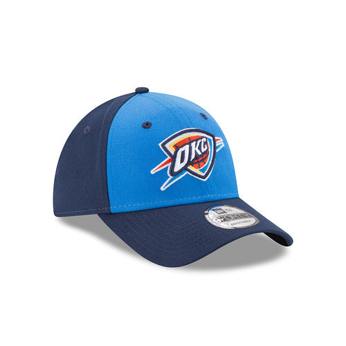OKLAHOMA CITY THUNDER NEW ERA 9FORTY FREE THROW CAP NAVY
