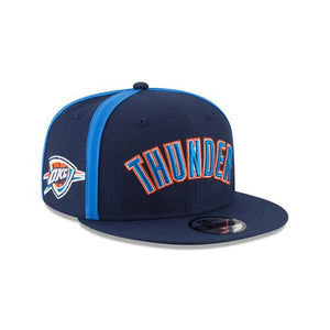 OKLAHOMA CITY THUNDER NEW ERA 9FIFTY Y2K SEAM SNAPBACK