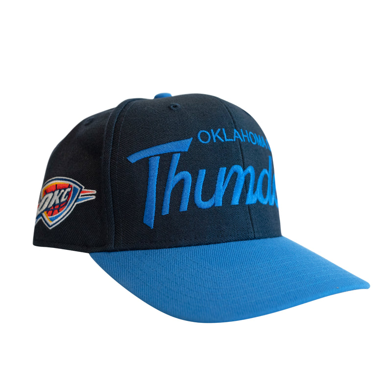 OKLAHOMA CITY THUNDER 47 BRAND OKC WORDMARK MVP HAT