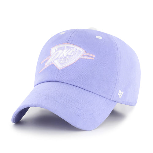 OKLAHOMA CITY THUNDER 47 BRAND PURPLE FOUNDATION HAT