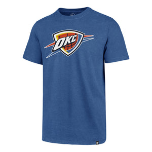 47 BRAND OKLAHOMA CITY THUNDER MENS LINE UP MVP CLUB TEE