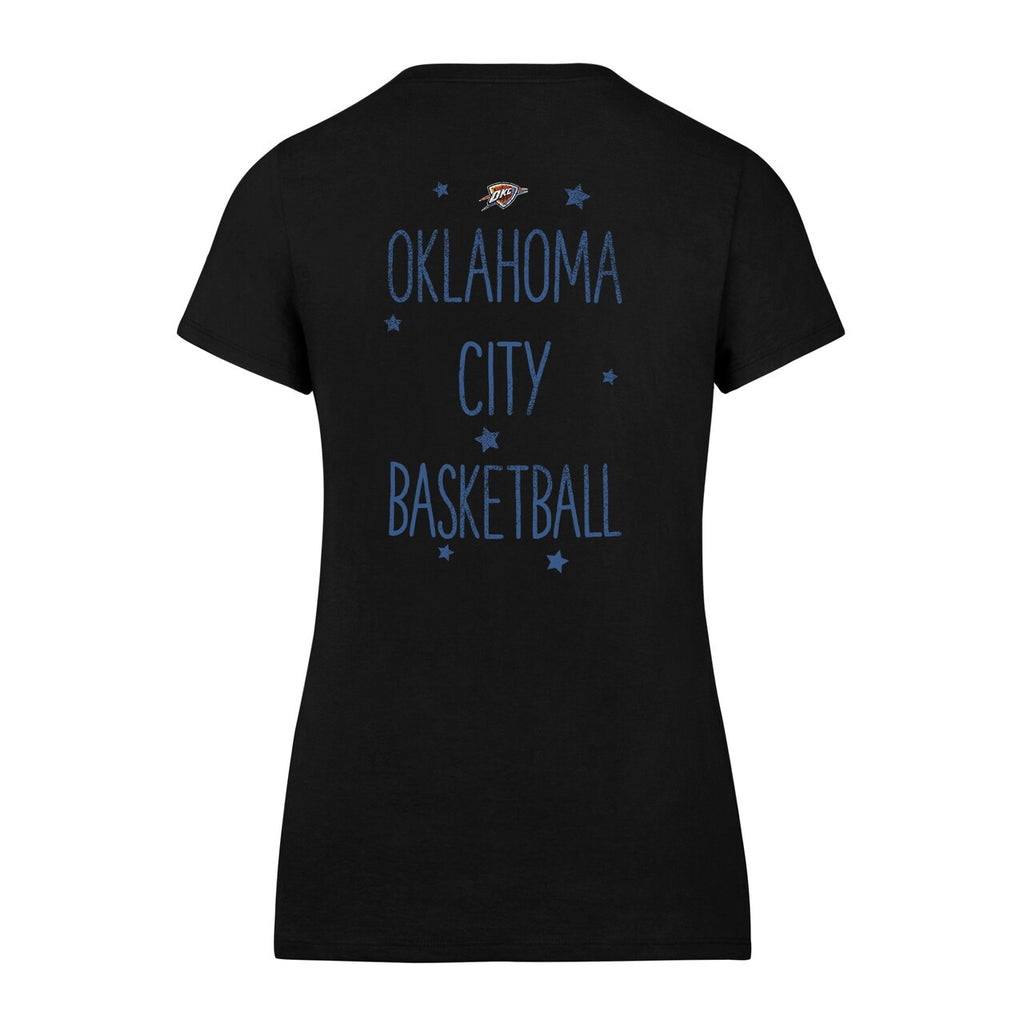 OKLAHOMA CITY THUNDER 47 BRAND WOMEN'S MVP SPLITTER SCOOP