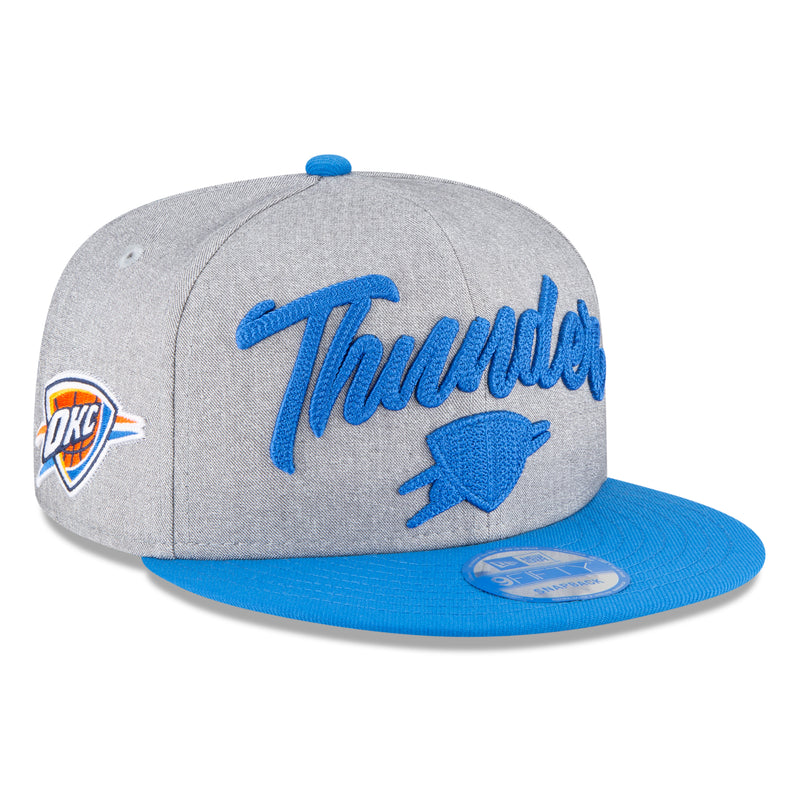 OKLAHOMA CITY THUNDER NEW ERA NBA20 DRAFT 950 SNAPBACK HAT