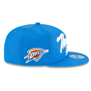 OKLAHOMA CITY THUNDER NEW ERA NBA20 DRAFT ALT 950 SNAPBACK HAT