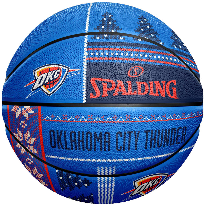 OKLAHOMA CITY THUNDER UGLY SWEATER BASKETBALL