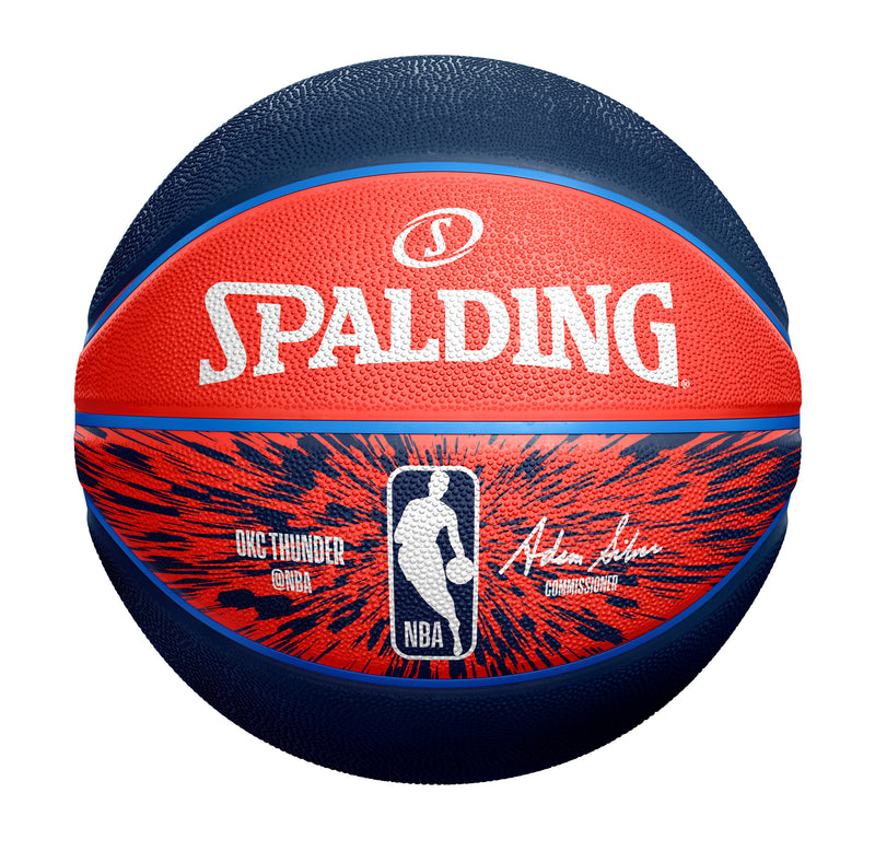 OKLAHOMA CITY THUNDER SPALDING B7 ZOOM BALL