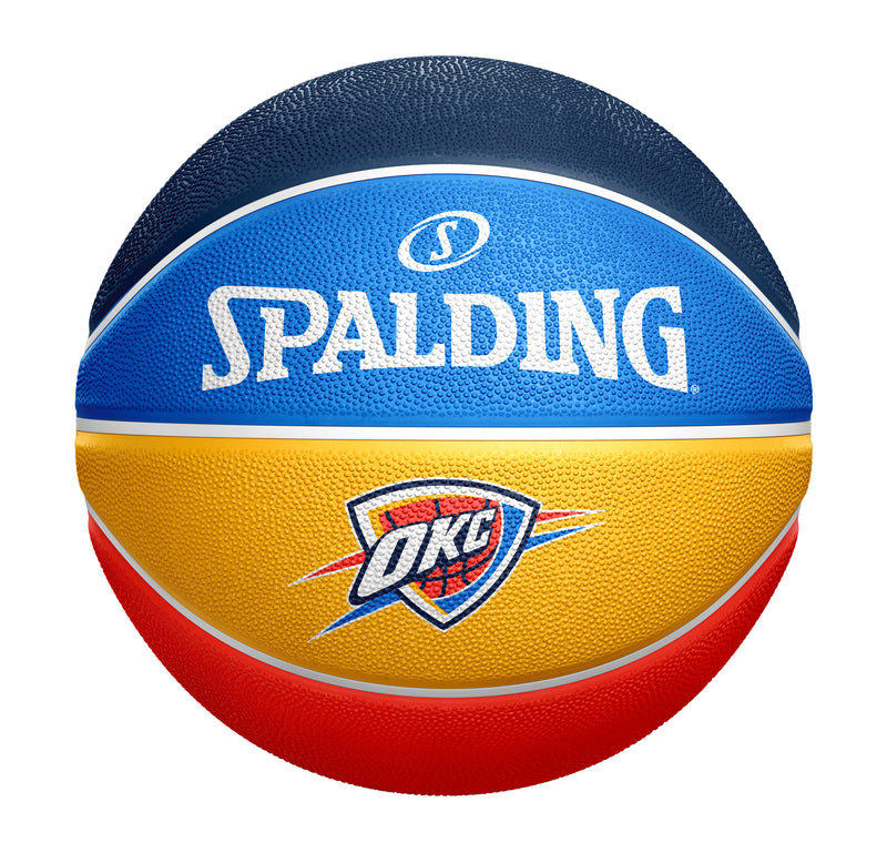OKLAHOMA CITY THUNDER SPALDING B7 ALT PANEL BALL