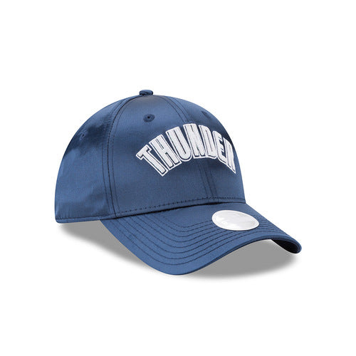 OKLAHOMA CITY THUNDER NEW ERA WOMEN'S 9TWENTY SATIN TEAM CHARMER