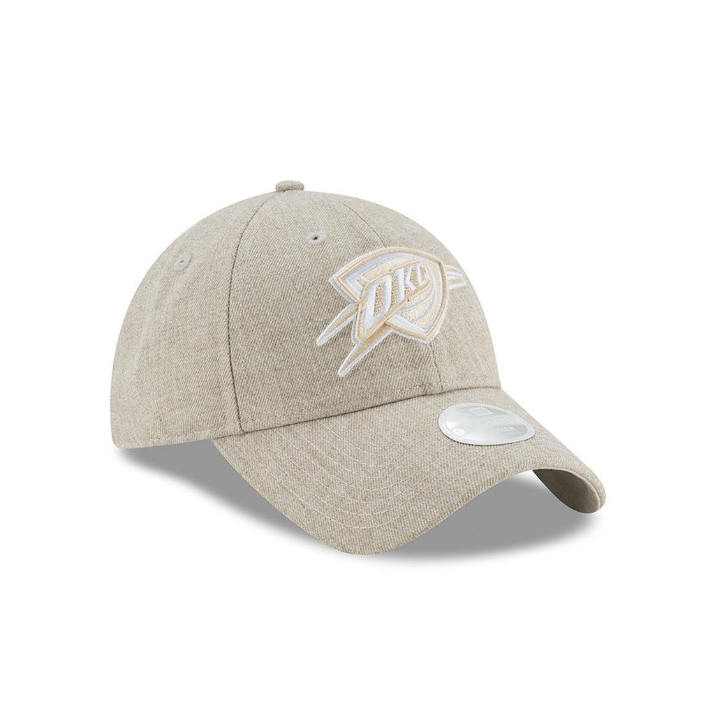 OKLAHOMA CITY THUNDER NEW ERA 9TWENTY WOMEN'S PREFERRED PICK TAN
