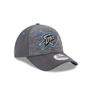 OKLAHOMA CITY THUNDER NEW ERA 9FORTY THE LEAGUE HEATHERED