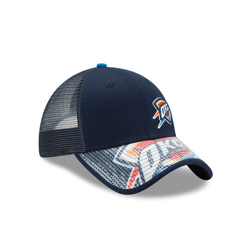 OKLAHOMA CITY THUNDER NEW ERA 9TWENTY WOMEN'S SEQUIN SAVY