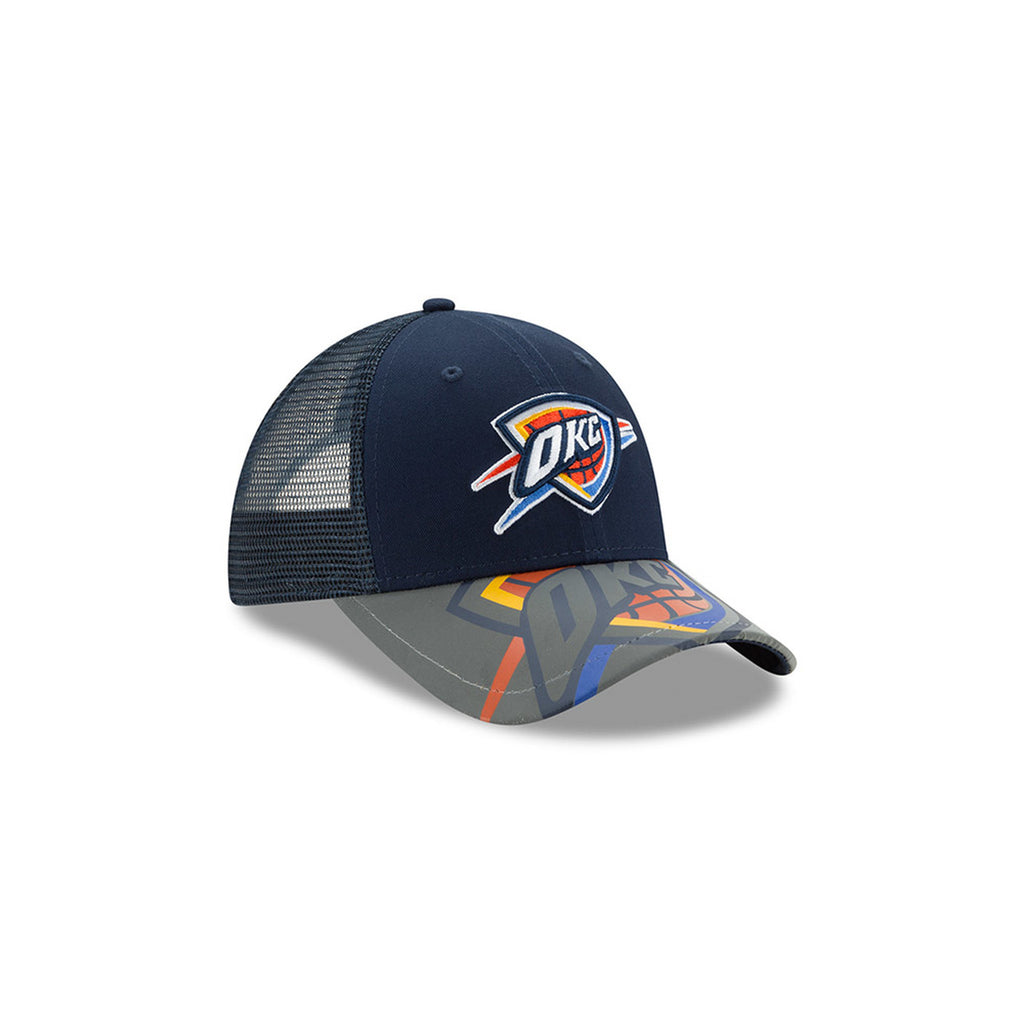 OKLAHOMA CITY THUNDER NEW ERA YOUTH 9FORTY MEGA FLECT