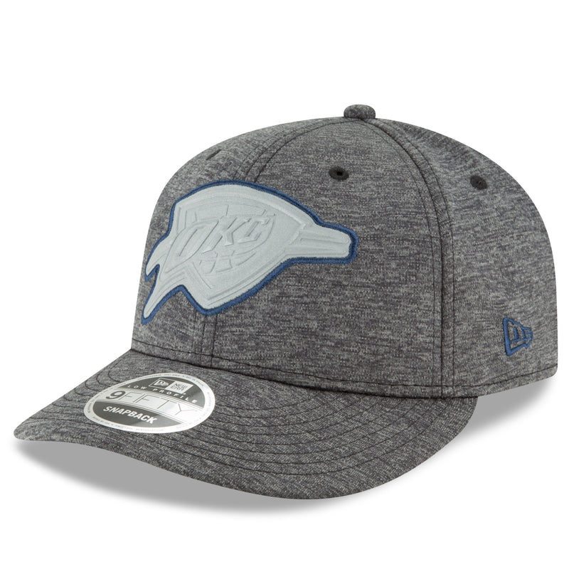 OKLAHOMA CITY THUNDER NEW ERA BEVELED REFLECT 950 SNAPBACK HAT