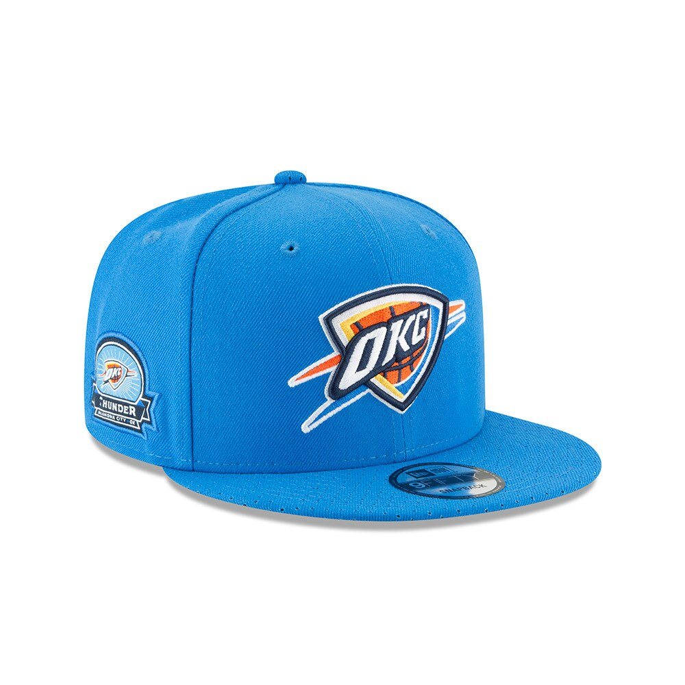 OKLAHOMA CITY THUNDER NEW ERA PATCHED PREFERRED 950 SNAPBACK HAT