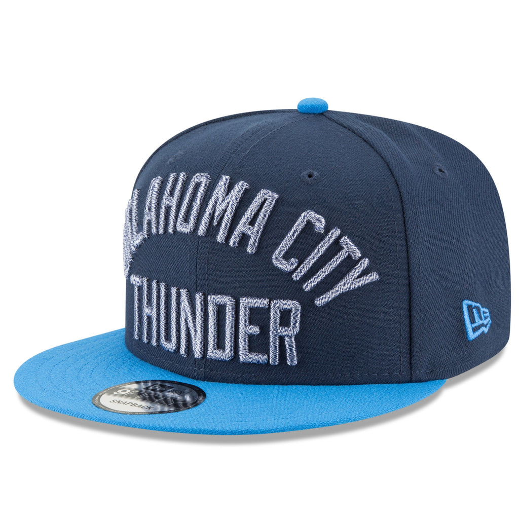 OKLAHOMA CITY THUNDER NEW ERA TWIST TITLE 950 SNAPBACK HAT