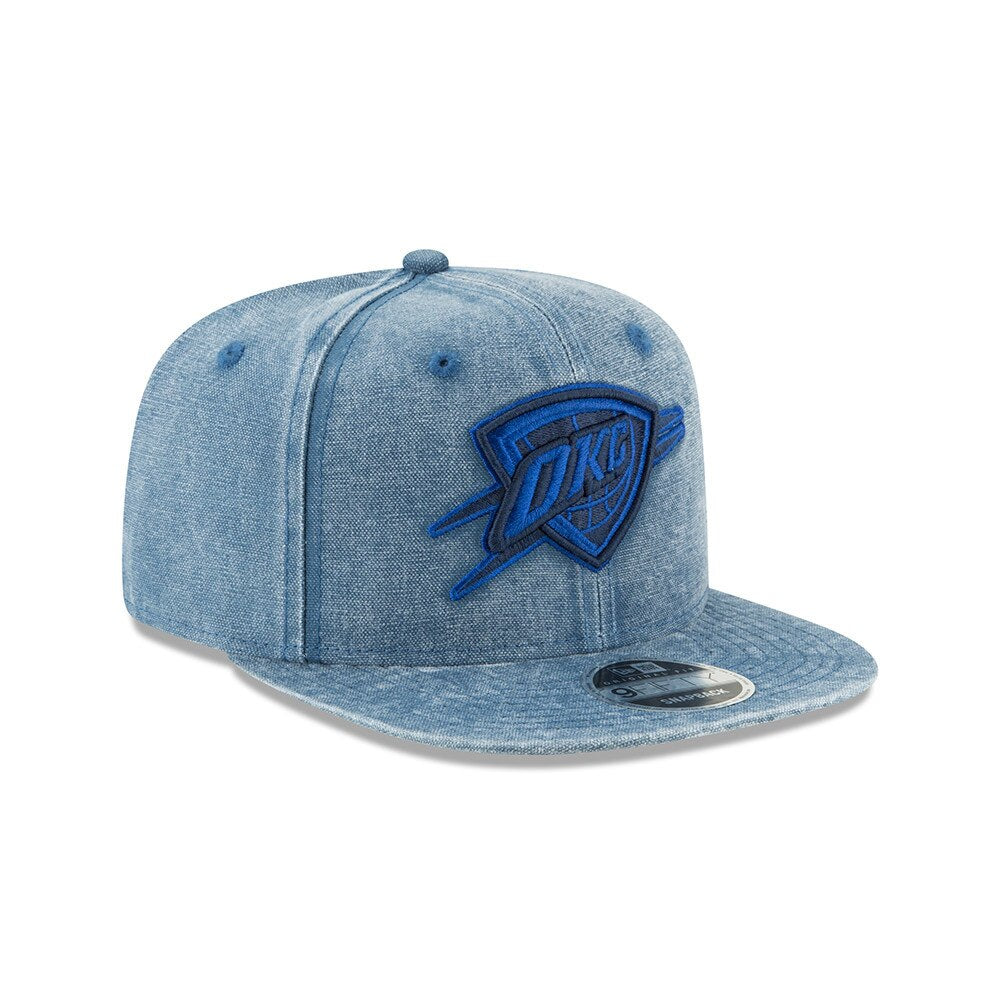 OKLAHOMA CITY THUNDER NEW ERA RUGGED TONE 950 SNAPBACK HAT