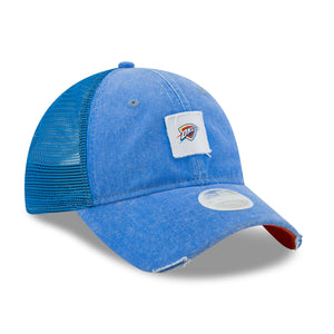 OKLAHOMA CITY THUNDER NEW ERA WOMEN TEAM SQUARED 920 HAT