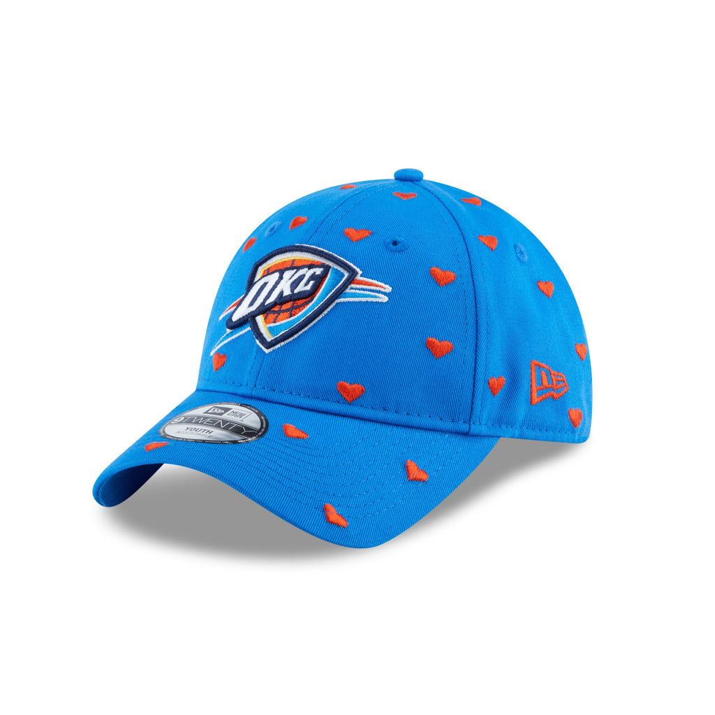 OKLAHOMA CITY THUNDER NEW ERA YOUTH LOVELY FAN 920 HAT