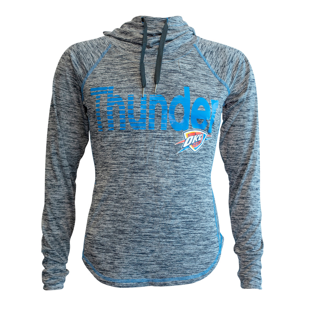 OKLAHOMA CITY THUNDER WOMEN LIGHTWEIGHT FUNNEL HOODIE