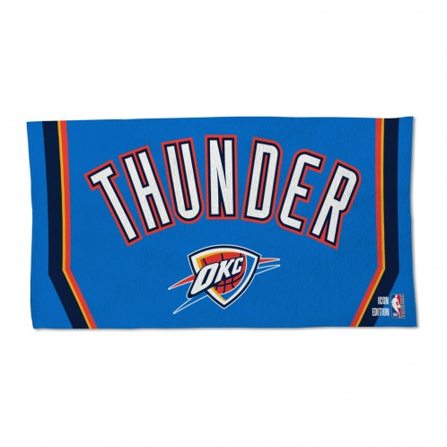 OKLAHOMA CITY THUNDER LOCKER ROOM TOWEL - ICON BLUE