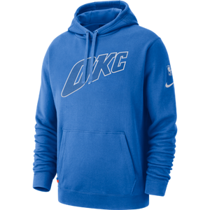 OKC THUNDER NIKE TONAL BLUE PULL OVER