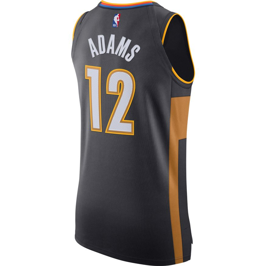 OKLAHOMA CITY THUNDER 2019-20 STEVEN ADAMS NIKE CITY EDITION JERSEY