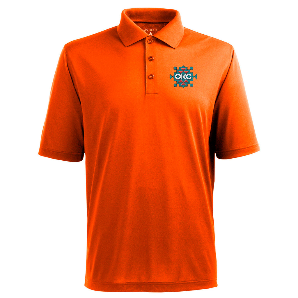 OKLAHOMA CITY THUNDER ANTIGUA SUNSET POLO