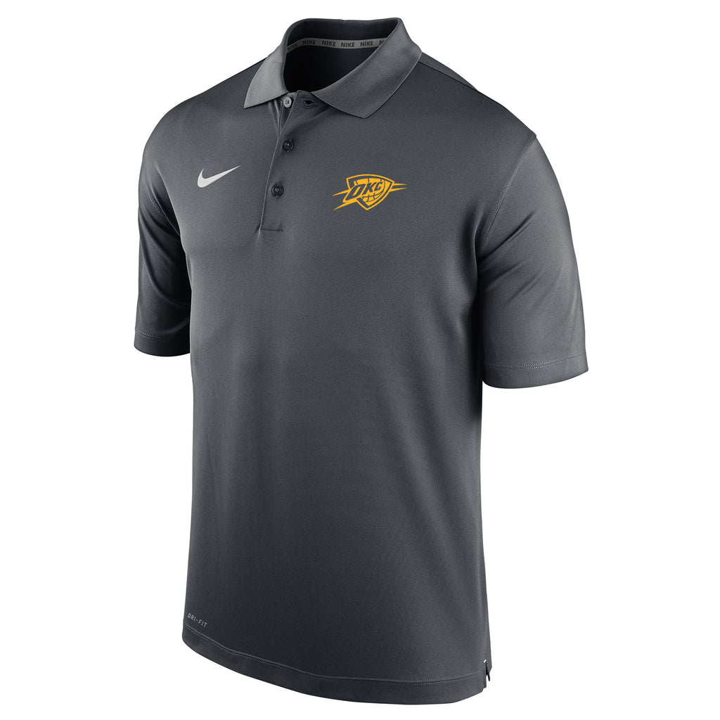 OKLAHOMA CITY THUNDER NIKE MENS CITY EDITION POLO