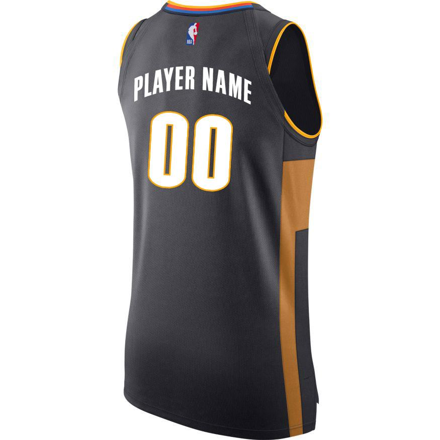 OKLAHOMA CITY THUNDER 2019-20 NIKE CITY EDITION CUSTOM PLAYER JERSEY