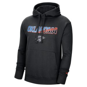 OKC THUNDER CITY EDITION MENS PULLOVER HOODIE